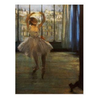 Edgar Degas Danseuse posant chez un photographe Post Cards