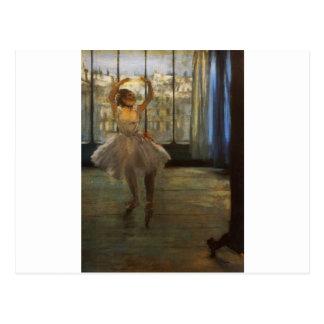 Edgar Degas Danseuse posant chez un photographe Postcards