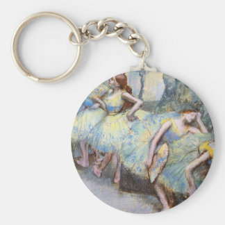 Edgar Degas Danseuses dans les coulisses Basic Round Button Keychain