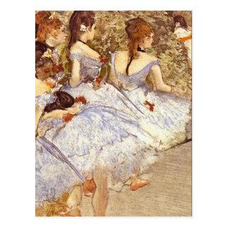Edgar Degas - Danseuses Post Card