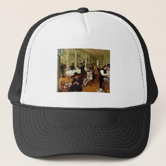 Edgar Degas - Die Baumwollfaktorei 1873 oil canvas Trucker Hat