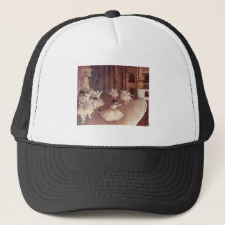 Edgar Degas - Dress Rehearsal Ballet Stage 1873-74 Trucker Hat