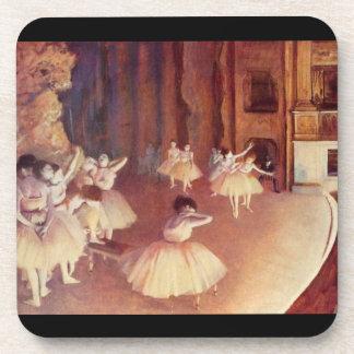 Edgar Degas - Dress rehearsal of the ballet on the Beverage Coasters