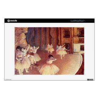 Edgar Degas - Dress rehearsal of the ballet on the Decals For Laptops