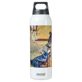 Edgar Degas - During the dance lessons Madame Card 16 Oz Insulated SIGG Thermos Water Bottle