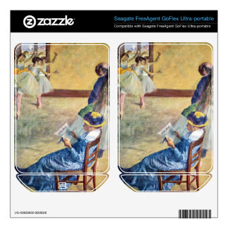 Edgar Degas - During the dance lessons Madame Card FreeAgent GoFlex Decals