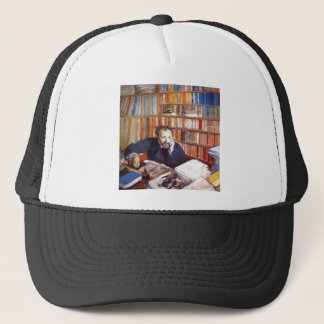 Edgar Degas - Edmond Duranty Portrait 1879 tempera Trucker Hat