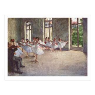 Edgar Degas el   dirección del ensayo el   del Postal