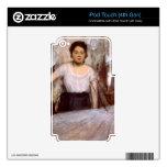 Edgar Degas - el planchar de la mujer Skins Para iPod Touch 4G