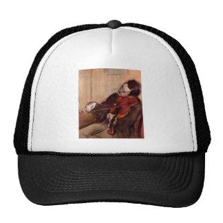 Edgar Degas - el violinista Gorro De Camionero