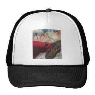 Edgar Degas - en los bailarines de la fan del Gorros Bordados