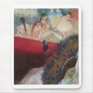Edgar Degas - en los bailarines de la fan del Tapetes De Raton