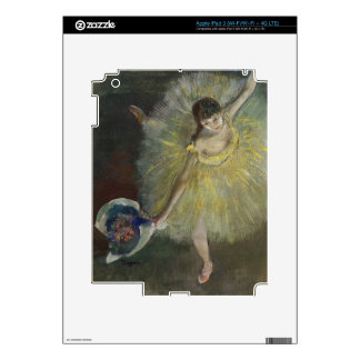 Edgar Degas | End of an Arabesque, 1877 iPad 3 Skin