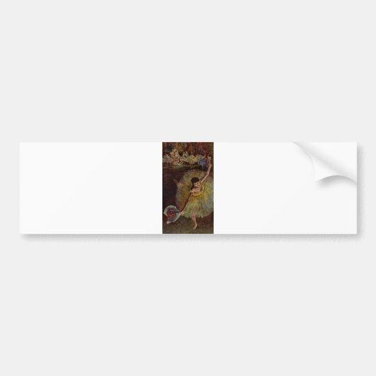 Edgar Degas - End of Arabesque 1877 Bumper Sticker