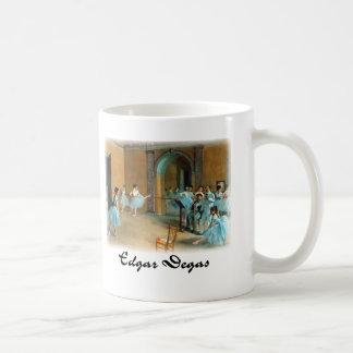 Edgar Degas - ensayo de la escena Tazas