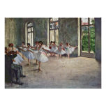 Edgar Degas - ensayo del ballet Poster