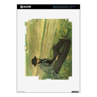 Edgar Degas   Eugene Manet Decals For iPad 3