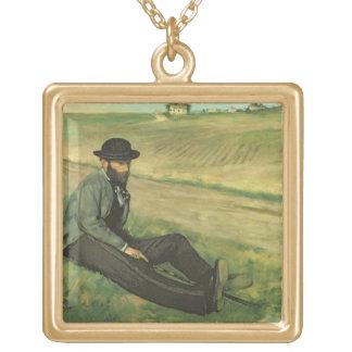 Edgar Degas | Eugene Manet Gold Plated Necklace