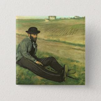 Edgar Degas | Eugene Manet Pinback Button