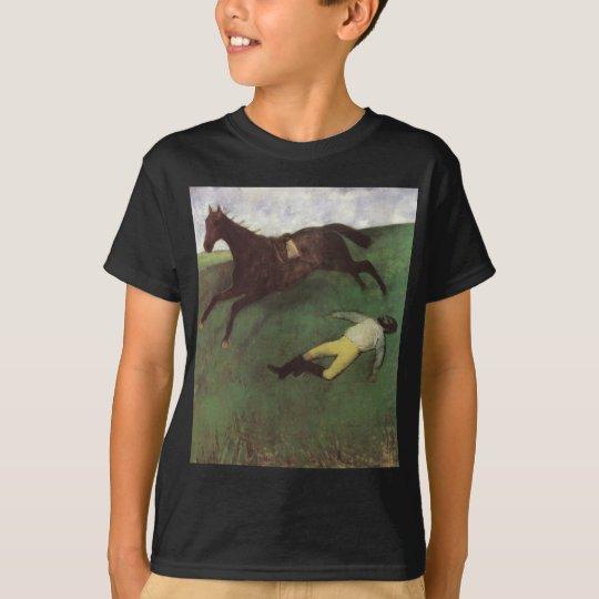 Edgar Degas Fallen Jockey T-Shirt