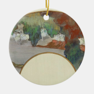 Edgar Degas | Fan, c.1879  Ceramic Ornament