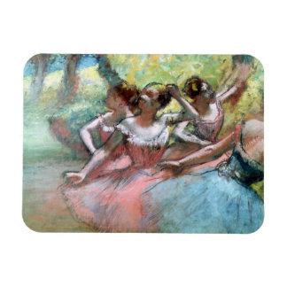 Edgar Degas   Four ballerinas on the stage Magnet