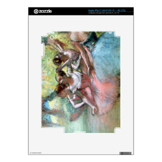 Edgar Degas   Four ballerinas on the stage Skins For iPad 3