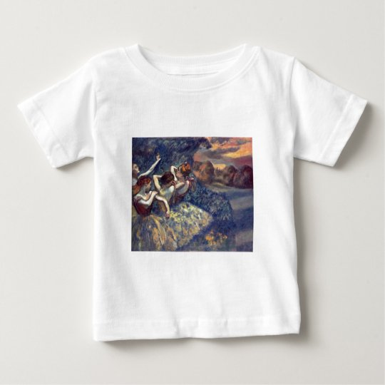 Edgar Degas - Four Dancers 1899 Ballet Canvas Baby T-Shirt