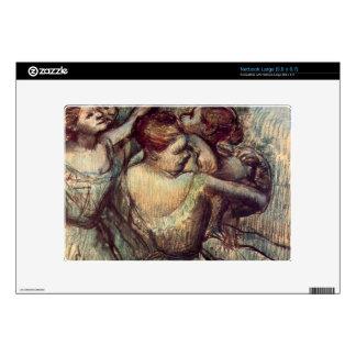 Edgar Degas - Four dancers in half figure Netbook Decals