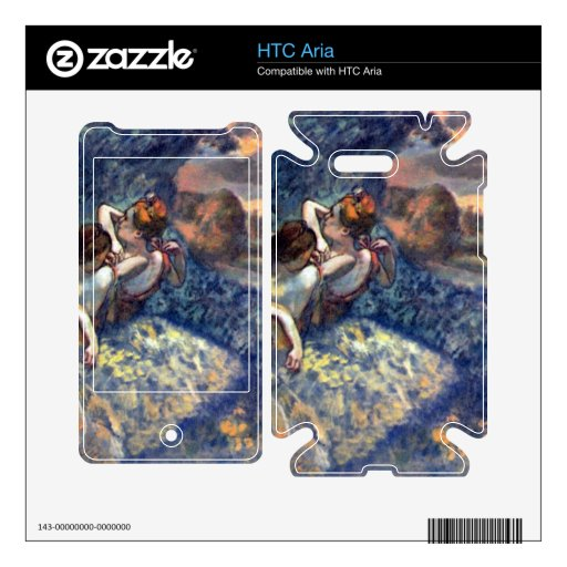 Edgar Degas - Four Dancers Skin For HTC Aria