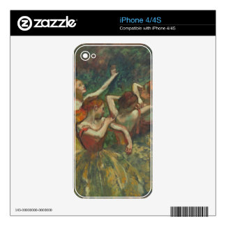 Edgar Degas | Four Seasons in the One Head, c.1590 Decals For The iPhone 4