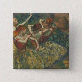 Edgar Degas | Four Seasons in the One Head, c.1590 Pinback Button