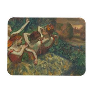 Edgar Degas | Four Seasons in the One Head, c.1590 Rectangular Photo Magnet