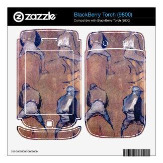 Edgar Degas - Four studies of Jockeys BlackBerry Torch Skin