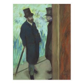Edgar Degas | Friends at the Theatre Postcard