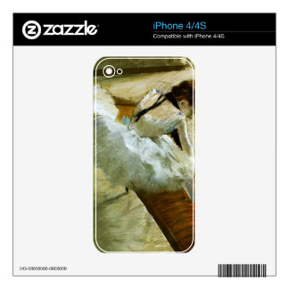 Edgar Degas - Gallery Player iPhone 4S Skin