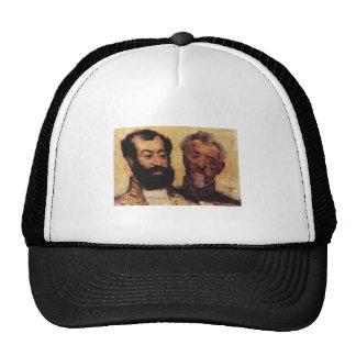 Edgar Degas - general Mellinet y principal rabino Gorros Bordados