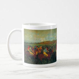 Edgar Degas - Gentlemens Race Coffee Mug