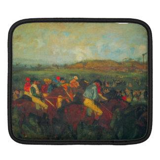 Edgar Degas - Gentlemens Race iPad Sleeve