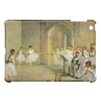 Edgar Degas - Hall of the Opera Ballet in the Rue iPad Mini Cover