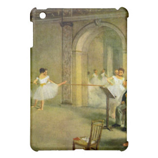 Edgar Degas - Hall of the Opera Ballet in the Rue iPad Mini Covers