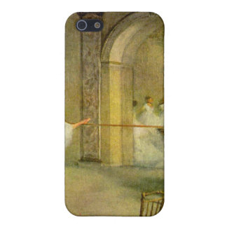 Edgar Degas - Hall of the Opera Ballet in the Rue iPhone SE/5/5s Cover