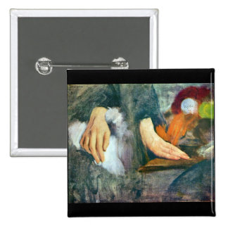 Edgar Degas - Hand Study Pins