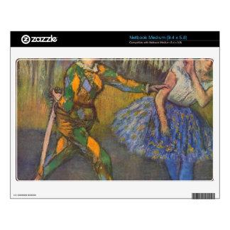 Edgar Degas - Harlequin and Colombine Netbook Decals