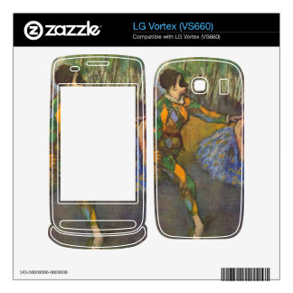 Edgar Degas - Harlequin and Colombine Decals For LG Vortex