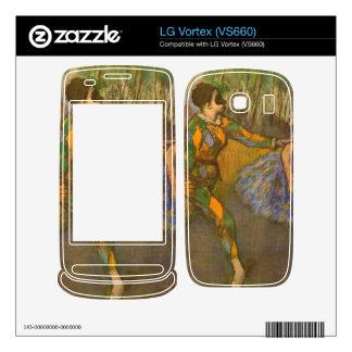 Edgar Degas - Harlequin and Columbine Skin For LG Vortex