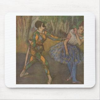 Edgar Degas - Harlequin y Colombine 1884 Alfombrillas De Ratón