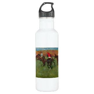 Edgar Degas - Horse race before the start Water Bottle