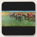 Edgar Degas - Horse racing before starting Beverage Coasters