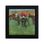 Edgar Degas - Horse racing before starting Keepsake Boxes